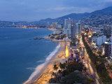 Acapulco, Guerrero State, Pacific Coast, Mexico Fotografie-Druck von Peter Adams