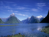 Milford Sound, Fjordland, South Island, New Zealand Photographic Print by Jon Arnold