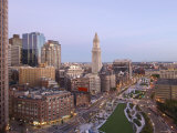 Atlantic Avenue and Customs House, Boston, Massachusetts, USA Photographic Print by John Coletti