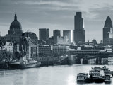 St. Paul's and City of London, London, England Photographic Print by Doug Pearson