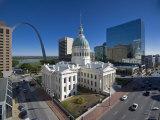USA, Missouri, St. Louis, Old Courthouse Photographie par Alan Copson