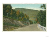 New York - View of the Mohican Trail in the Catskill Mountains Prints