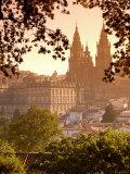 Cathedral de Santiago de Compostela, Santiago de Compostela, Galicia, Spain Photographic Print by Alan Copson