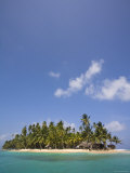 Panama, Comarca de Kuna Yala, San Blas Islands, Green Island Photographic Print by Jane Sweeney