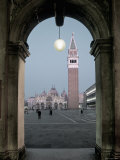St. Mark's Basilica, St. Mark's Square, Venice, Italy Photographic Print by Alan Copson