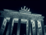 Brandenburg Gate at Night, Berlin, Germany Photographic Print by Jon Arnold
