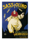 Italy - Sassolino Liquore da Dessert Promotional Poster Prints