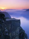 Preikestolen, Lysefjorden, Norway Photographic Print by Doug Pearson