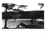 Kodiak, Alaska - View of Island Lake Prints by  Lantern Press