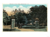 Binghamton, New York - Ross Park Entrance View Prints
