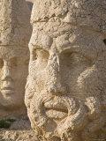 Eastern Turkey, Adiyaman, Nemrut Dagi National Park, West Terrace, Head of Hercules Photographic Print by Jane Sweeney