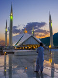 Faisal Mosque, Islamabad, Pakistan Photographic Print by Michele Falzone