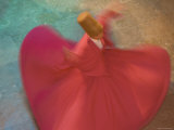 Whirling Dervishes, Performing the Sema Ceremony, Istanbul, Turkey Photographic Print by Gavin Hellier