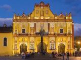 San Cristobel Cathedral, San Cristobal de Las Casas, Chiapas Province, Mexico Photographic Print by Peter Adams