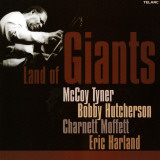 Land of Giants, McCoy Tyner, Bobby Hutcherson, Charnett Moffett, Eric Harland Prints