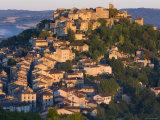Cordes-Sur-Ciel, Tarn, Midi-Pyrenees, France Fotografie-Druck von Peter Adams