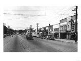 Cle Elum, Washington - A Street Scene Prints by  Lantern Press