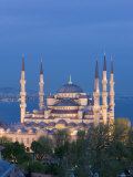 Blue Mosque, Sultanahmet, Bosphorus, Istanbul, Turkey Photographic Print by Gavin Hellier