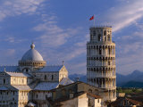 Leaning Tower and Duomo, Pisa, Tuscany, Italy Photographic Print by Steve Vidler