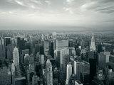 Manhattan Skyline at Night, New York City, USA Photographic Print by Jon Arnold