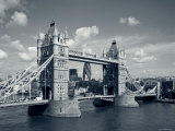 Tower Bridge and Thames River, London, England Photographic Print by Steve Vidler