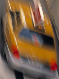 Taxi, New York City, NY, USA Photographic Print by Walter Bibikow