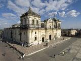 Cathedral of Leon, Basilica de Asuncion, Leon, Nicaragua Photographic Print by John Coletti