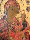 Icon, Mstera, Vladimir Region, Russia Fotodruck von Ivan Vdovin