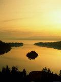 Lake Tahoe at Dawn, Tahoe, Nevada, USA Photographic Print by Steve Vidler