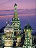 St. Basil's Cathedral, Red Square, Moscow, Russia Photographic Print by Peter Adams