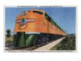 "Chicago, Illinois - Streamliner ""400"" to Milwaukee Prints by  Lantern Press"