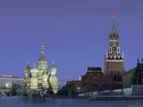 St. Basil'S, Red Square, Moscow, Russia Photographic Print by Jon Arnold