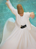 Whirling Dervishes, Performing the Sema, Istanbul, Turkey Photographic Print by Gavin Hellier