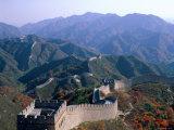 Great Wall at Badaling, Beijing, China Photographic Print by Steve Vidler