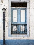 Panama, Panama City, Casco Viejo, Lamp-Post by Blue Window Photographic Print by Jane Sweeney