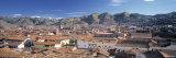 Skyline of Cusco, Peru Fotodruck von Peter Adams