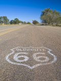 USA, Texas, Glenrio, Route 66 Photographic Print by Alan Copson