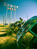 USA, Texas, Route 66, Conway Bug Ranch, Made of VW Beetles Photographic Print by Alan Copson