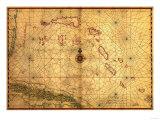 Bahamas - Panoramic Map Prints