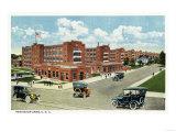 Bridgeport, Connecticut - Exterior View of the Remington Arms, UMC Prints by  Lantern Press