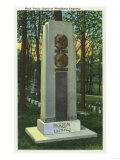 Elmira, New York, Woodlawn Cemetery, Mark Twain Gravestone Scene, Poster
