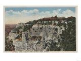 Grand Canyon, Arizona - El Tovar Hotel View Prints by  Lantern Press