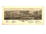 Colorado - Panoramic Map of Black Hawk Prints by  Lantern Press