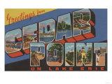Sandusky, Ohio - Lake Erie Prints