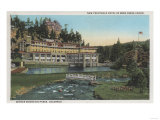 Evergreen, CO - Troutdale Hotel, Bear Creek Canyon Prints by  Lantern Press
