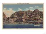 Grand Canyon, Arizona - Boulder Dam Area, Lake Mead Boat Prints by  Lantern Press