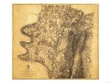 Battle of Antietam - Civil War Panoramic Map - Antietam, MD Prints