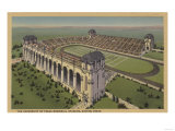 Austin, TX - The University of Texas Memorial Stadium from Air Prints
