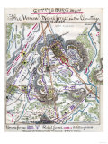 Battle of Gettysburg - Civil War Panoramic Map Affiches par  Lantern Press