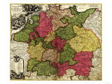 Germany - Panoramic Map Prints